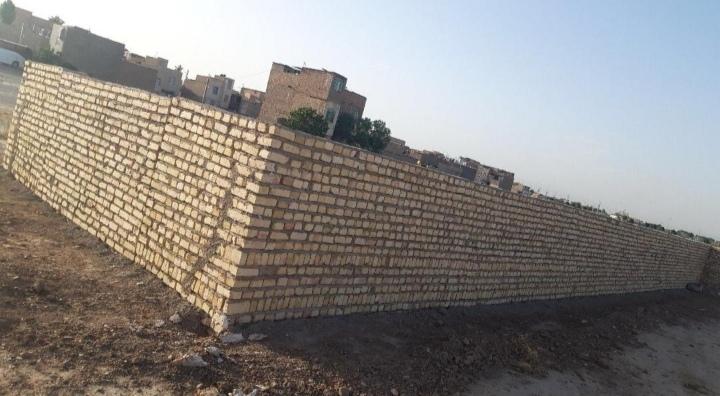 فروش یک زمین چهار دیواری به متراژ 120 متر