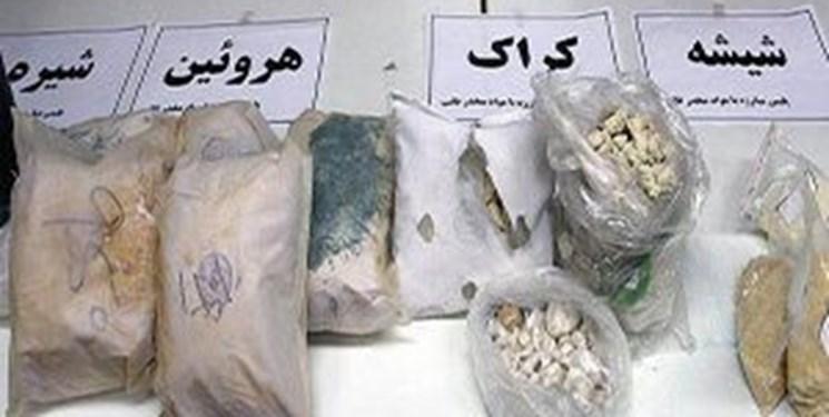 کشف 241 کیلو مواد مخدر در پیشوا
