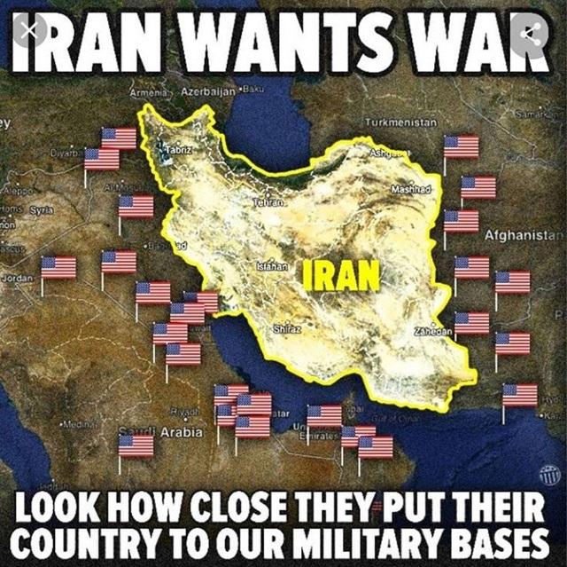 پایگاه های آمریکا در اطراف ایران