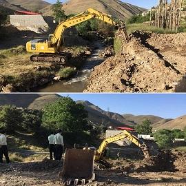 تخریب و قلع و قمع 180 فقره ساخت و ساز غیرمجاز در دماوند